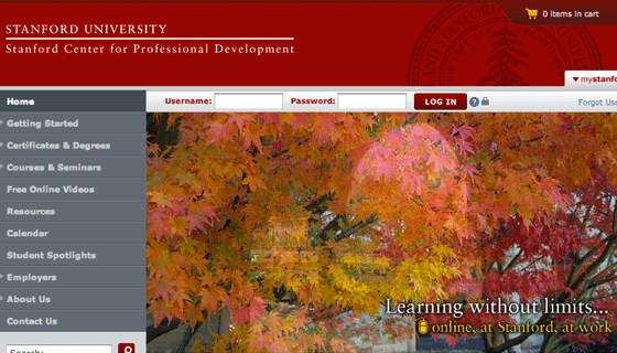 Stanford Center for Professional Development